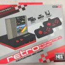 New Retro Bit Nintendo NES Entertainment System Red/Black