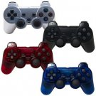 4x Playstation 2 Double Controll Joystick Vibration Blue Red Silver Black