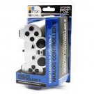 New Silver PS2 Shock Controller (PS2) Dual Vibration Gamepad