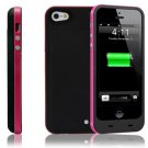 iPhone 5/5s 2000mAh Power Bank External Battery Backup Portable Charger Case