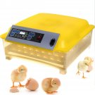 New Egg Incubator Hatcher 48 Digital Clear Temperature Control Automatic Turning