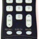 OEM Sanyo GXFA TV Remote Control