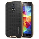 Spigen GALAXY S5 Case [[ NEO HYBRID ]] Color Series - Slim Grip Design in Copper Gold