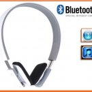 Stereo Bluetooth 3.0 Wireless Headphone Headset for iPad iPhone Galaxy S4 S3 HTC LG White