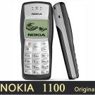 Nokia 1100 Refurbished Original Unlocked Cell Phone 1 year warranty+Battery+Charger