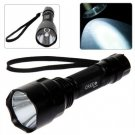 Ultrafire C8 Cree XM-L T6 5 Modes 1000 Lumens LED Flashlight (1 x 18650 Battery)
