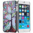 Stylish Colorful Tree Pattern Style Plastic Protective Case Cover for iPhone 6 Plus - 5.5 inches