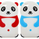 Silicone Panda Style Protective Case Cover for iPhone 6 Plus