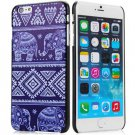 Elephant Pattern Style Plastic Protective Case Cover for iPhone 6 Plus - 5.5 inches