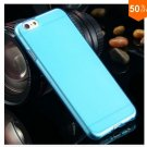 Flip Open Full Clear Case For Iphone 6  4.7inch Soft Transparent TPU Silicon (COLOR  6)