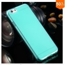 Flip Open Full Clear Case For Iphone 6  4.7inch Soft Transparent TPU Silicon (COLOR  7)