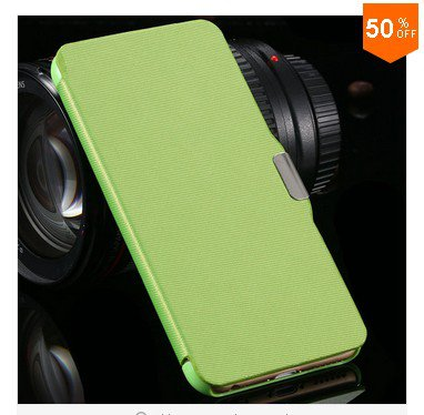 Case For Iphone 6  4.7'' Wallet Cover Flip Protective Skin With Magnetic Buckle (Color 5 )