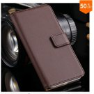 Leather Cover for iphone 6, 4.7'' Case Flip Open Stand Holder Card Slot  (Color 4)