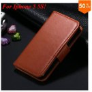 Photo Frame Flip PU Leather Cover Case For Iphone 5 5S  ( COLOR 3