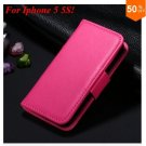 Photo Frame Flip PU Leather Cover Case For Iphone 5 5S  ( COLOR 4