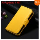 Photo Frame Flip PU Leather Cover Case For Iphone 5 5S  ( COLOR 8