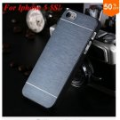 Deluxe  Metal Brush Cover for iphone 5 5s 5g  Aluminum Hard Back  (COLOR 5