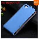 Luxury Genuine Leather Flip Cover Case For Iphone 5 5S 5g  (color 4
