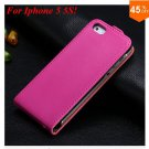 Luxury Genuine Leather Flip Cover Case For Iphone 5 5S 5g  (color 8