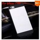 Deluxe Metal+Black TPU Brush Case For Iphone 4 4s 4g  (color 3