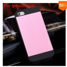 Deluxe Metal+Black TPU Brush Case For Iphone 4 4s 4g  (color 6