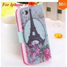 Cute Animal Structure! Flip Wallet Case for iPhone  5 5s 5g   (color 8