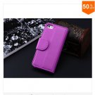 Photo Frame Flip PU Leather Cover Case For Iphone 5C With ID Credit Card Slots ( color 9