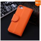 Photo Frame Flip PU Leather Cover Case For Iphone 5C With ID Credit Card Slots ( color 10