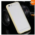 Mat PC + TPU Clear Case For Iphone 6 4.7'' Cover Transparent Back   (color 4