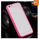 Mat PC + TPU Clear Case For Iphone 6 4.7'' Cover Transparent Back   (color 6