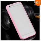 Mat PC + TPU Clear Case For Iphone 6 4.7'' Cover Transparent Back   (color 7