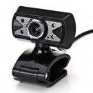 8.0 Mega Pixel HD Camera Webcam with 4 LED Light