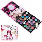 25 Colors Eyeshadow with Brush