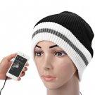 3.5mm iMusic Speaker Hat Earphone Cap with White Edge Built-in Headphone for Music Mp3 Mp4
