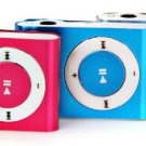 Compact MP3 Player 3.5mm Jack with Back Metal Clip/Micro SD Card Slot/USB Interface(silver)