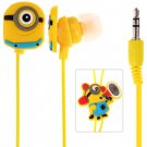 Cute Despicable Me The Minion Pattern General 3.5mm In-ear Earphone for Various Mobile Phones