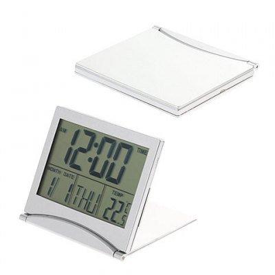 Calendar Digital Alarm Thermometer Desk Clock 033