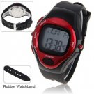 Pulse Heart Rate Counter Calories Monitor Waterproof Sport Watch with Calendar Function