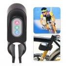 JX-610 110dB Plastic Black Bicycle Alarm Security Anti-Steal Lock