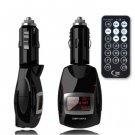 Wireless Car Kit FM Transmitter Modulator LCD Screen MP3 Music Player with Remote Controller