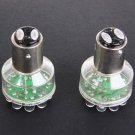 Pair 1157 12 LED DC12V Red Light Auto Car Stop and Brake Xenon Lamp