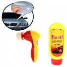 Quickly and Easily Repairs Scratches & Swirls Tool Microfiber Towel Buffer Pad