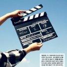 TV Film Movie Clapperboard Wooden Message Board Director Action Clapper Scene Marker