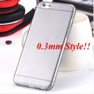 Super Flexible Clear Case For Iphone 6 4.7inch  ( COLOR THIN BLACK
