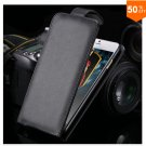 Flip Vertical Case For Iphone 6 5.5'' Plus Cover PU Leather  With Smart Buckle( COLOR  BLACK