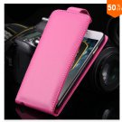 Flip Vertical Case For Iphone 6 5.5'' Plus Cover PU Leather  With Smart Buckle( COLOR  HOT PINK