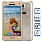 S5 Quad Band Unlocked Cell Phone Dual Cameras Dual SIM FM Bluetooth with 4.7 inch