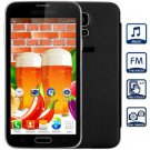 Unlocked Phone MP3 Bluetooth with 5.0 inch Dual Cameras (black