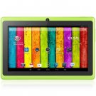 Q88 Android 4.2 with 7 inch WVGA Screen A23 Dual Core 1.2GHz Dual Cameras WiFi 4GB ROM Bluetooth