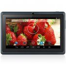 Android 4.4  Tablet PC with 7 inch WVGA Screen  Dual Core 1.3GHz Dual Cameras WiFi 4GB ROM ( black